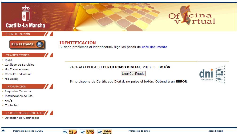 Registro de certificados de eficiencia energ tica en for Oficina virtual jccm